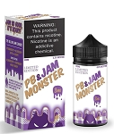 JAM MONSTER - GRAPE PB & JAM (100ML)